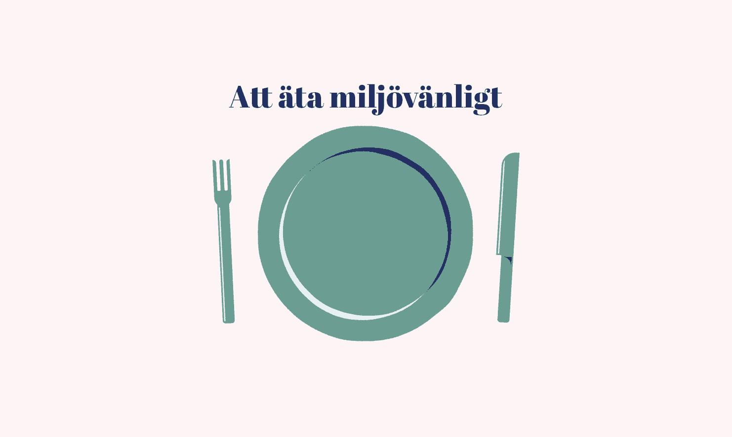 Att äta miljövänligt