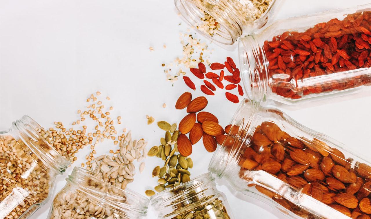 Korn, nötter och frön