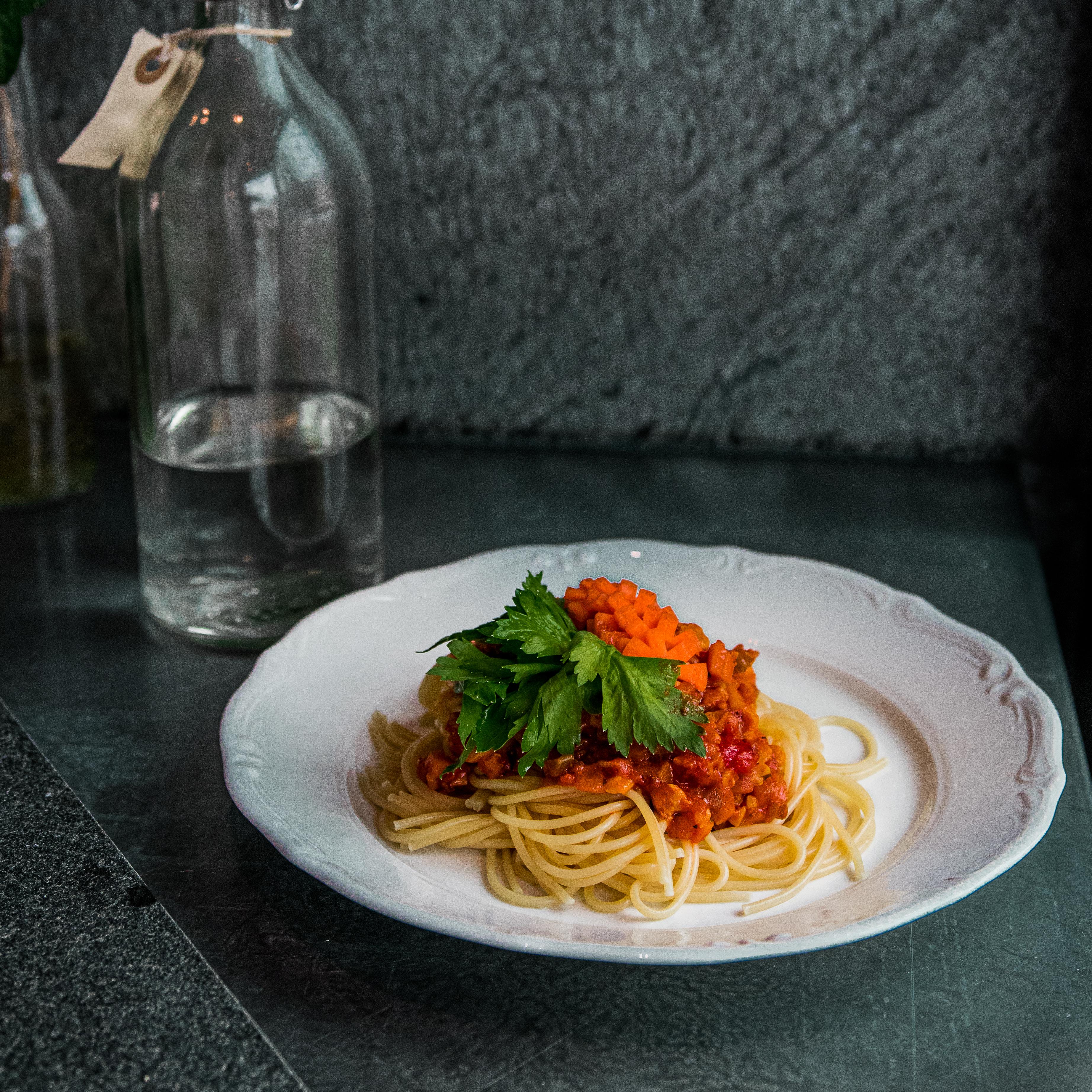 Spaghetti och köttfärssås-lupinta